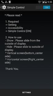 نرم افزار اندروید کنترل ساده - Simple Control