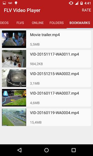 نرم افزار اندروید اف ال وی ویدیو پلیر - FLV Video Player
