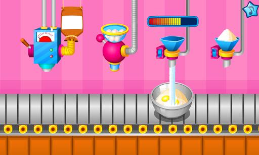 بازی اندروید آشپزی کیک های رنگارنگ - Cooking colorful cupcakes