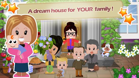 بازی اندروید خانه خانوادگی - Family House