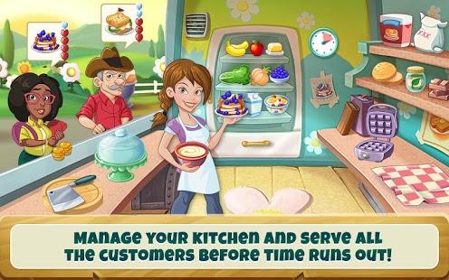 بازی اندروید فعالیت آشپزخانه - Kitchen Scramble: Cooking Game
