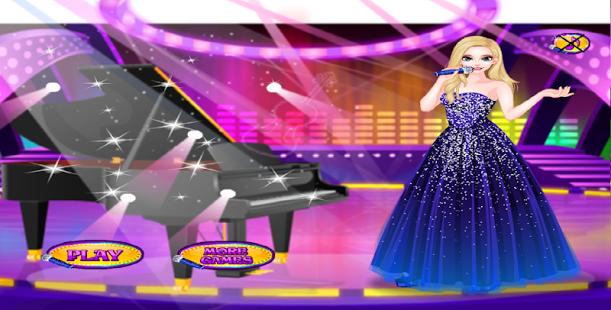 بازی اندروید دختر ستاره - سالن زیبایی - Star Girl: Beauty salon games