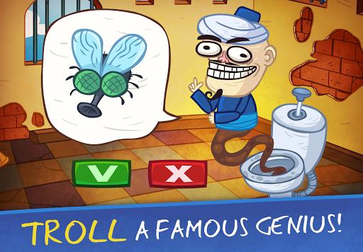 بازی اندروید چهره ترول - بازی های ویدئویی 2 - Troll Face Quest Video Games 2