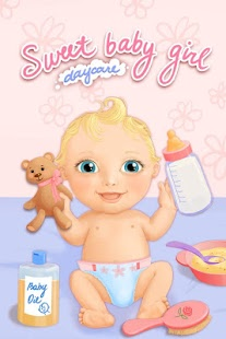 بازی اندروید مهد کودک و حمام کودک شیرین - Sweet Baby Girl Daycare & Bath