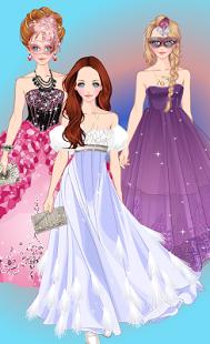 بازی اندروید پیراستن پرنسس مدل - Doll Princess Prom Dress Up