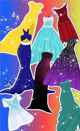 بازی اندروید لباس شاهزاده خانم سلطنتی  - Royal Princess Prom Dress up
