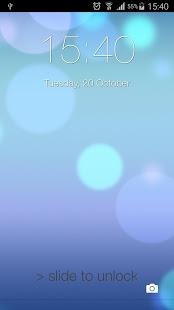 نرم افزار اندروید قفل صفحه نمایش - Lock Screen ilauncher 7 OS 9