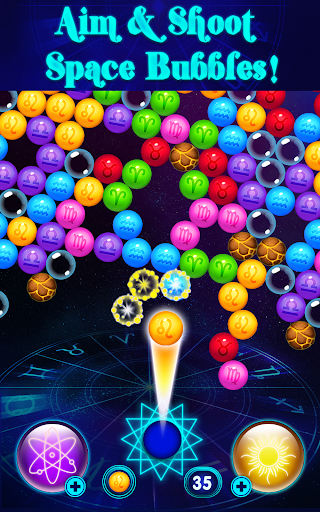 بازی اندروید حباب زودیاک - Zodiac Bubbles