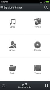 نرم افزار اندروید اکولایزر موزیک پلیر - Equalizer Music Player