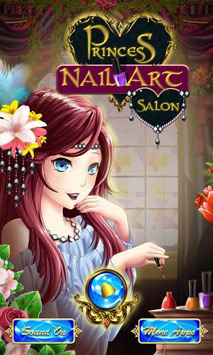 بازی اندروید سالن مانیکور شاهزاده - Princess Nail Art Salon