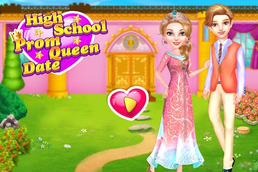 بازی اندروید قرار ملکه زیبایی دبیرستان - High School Prom Queen Date