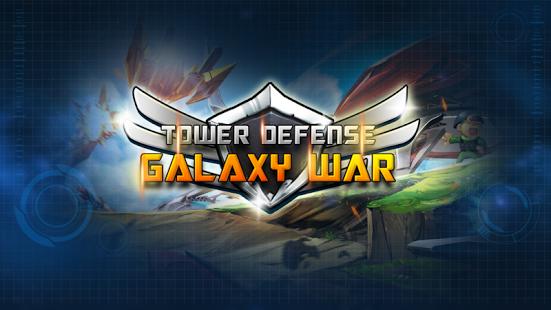 بازی اندروید جنگ کهکشانی - دفاع از برج - Galaxy War Tower Defense