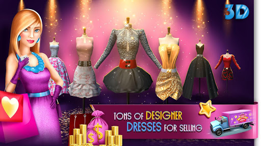 بازی اندروید فروشگاه مد - تب خرید - My Boutique Fashion Shop Game: Shopping Fever