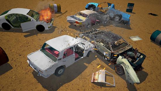 بازی اندروید مسابقه تخریب ماشین - Derby Destruction Simulator