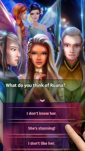 نرم افزار اندروید داستان عشق فانتزی - Fantasy Love Story Games