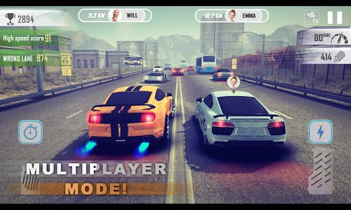 بازی اندروید چرخش برای سرعت - مسابقه ترافیک - Revolution for Speed: Traffic Racer