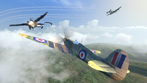 بازی اندروید مبازات هوایی ww2 - Warplanes: WW2 Dogfight