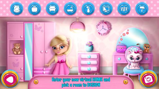 نرم افزار اندروید تزیین دکوراسیون خانه عروسک - Doll House Decorating Games
