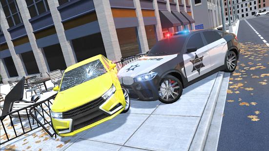 بازی اندروید ماشین لوکس پلیس - Luxury Police Car
