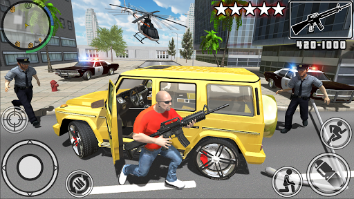 بازی اندروید شبیه ساز واقعی جرم و جنایت - Real Gangster Crime Simulator