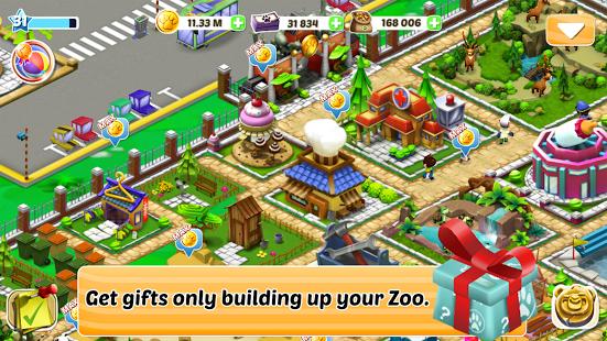 بازی اندروید تکامل باغ وحش - Zoo Evolution
