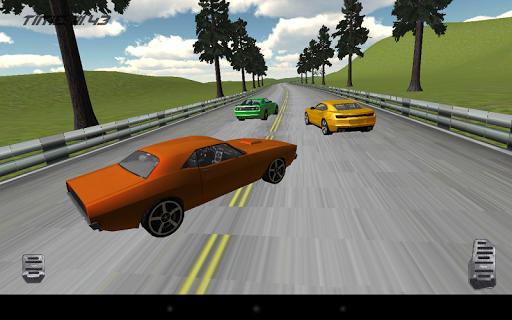 بازی اندروید مسابقه ماشین عضلانی واقعی - Real Muscle Car Racing