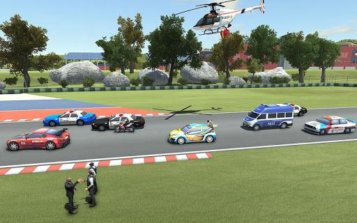 بازی اندروید ماشین مسابقه پلیس - Police Car Drift Race