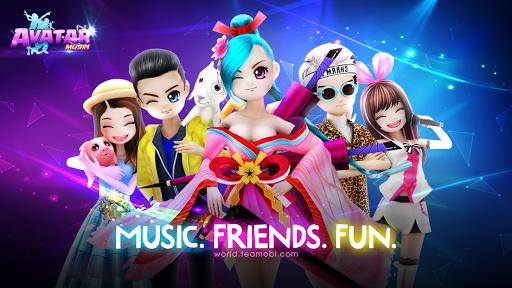 بازی اندروید جهان آواتار - موسیقی رقص - AVATAR MUSIK WORLD - Music and Dance Game
