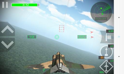 بازی اندروید مبارزان هوایی - Strike Fighters
