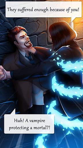 بازی اندروید داستان عشق خون آشام - Vampire Love Story Games For Girls: School Romance