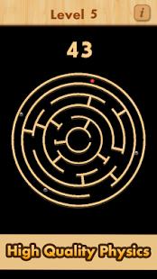 بازی اندروید مسیر مارپیچ توپ - Mazes & Balls