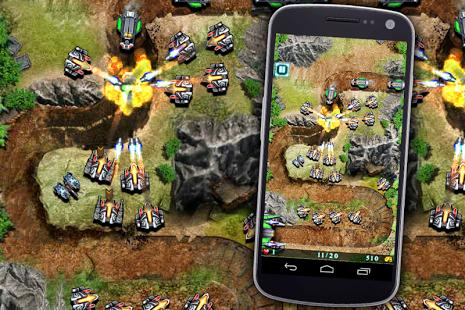 بازی اندروید دفاع کهکشان - Galaxy Defense (Tower Game)