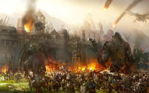 بازی اندروید میراث جنگ - Legacy Of Warrior : Action RPG Game