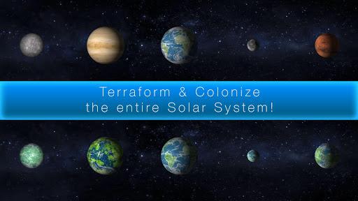بازی اندروید فضای کهکشان - TerraGenesis - Space Colony