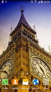 نرم افزار اندروید پس زمینه زنده لندن - London Live Wallpaper