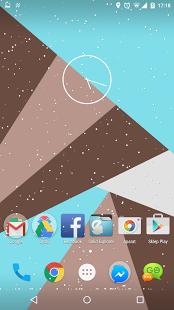 نرم افزار اندروید برف - Snow