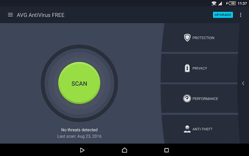 نرم افزار اندروید آنتی ویروس رایگان 2017 - Tablet AntiVirus FREE 2017