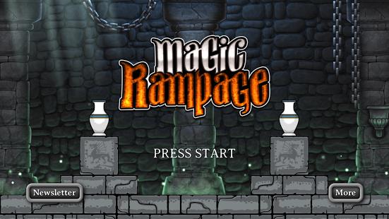 بازی اندروید خشم جادویی - Magic Rampage
