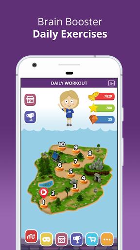 بازی اندروید بازی های مغز - MentalUP – Brain Games