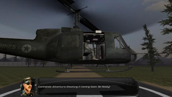 بازی اندروید ماجراجویی تکاور تیرانداز - Commando Adventure Shooting