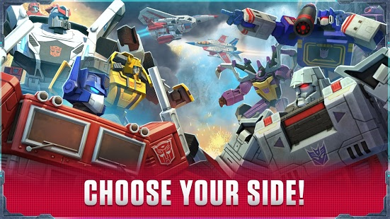 بازی اندروید ترانسفورمرز - جنگ زمین - Transformers: Earth Wars Beta