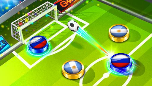بازی اندروید جام جهانی فوتبال 2018 - Soccer Caps 2018 ⚽️ Table Futbol Game