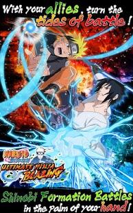 بازی اندروید نینجای درخشان - Ultimate Ninja Blazing
