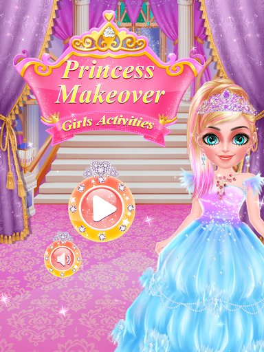 بازی اندروید آرایش شاهزاده خانم - Princess Makeover
