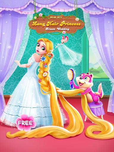 بازی اندروید عروسی شاهزاده خانم مو بلند - Long Hair Princess Wedding
