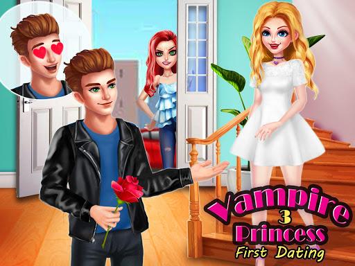 بازی اندروید شاهزاده خانم خون آشام 3 - داستان اولین قرار عاشقانه - Vampire Princess 3: First Date ❤ Love Story Games