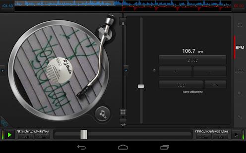 نرم افزار اندروید دی جی استادیو - DJ Studio 5 - Free music mixer