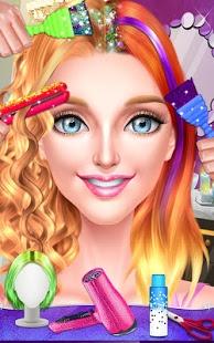 بازی اندروید سالن مو ستاره مد - Pop Star Hair Stylist Salon