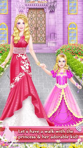 بازی اندروید شاهزاده خانم و دختر زیبای اسپا - Princess & Daughter Beauty Spa