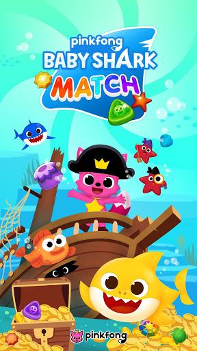 بازی اندروید تطبیق بچه کوسه اقیانوس - Baby Shark Match: Ocean Jam